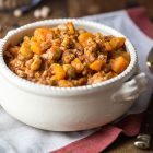 spezzatino di soia ceci e carote