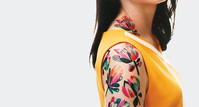 Tatuaggi-vegani-con-i-fiori