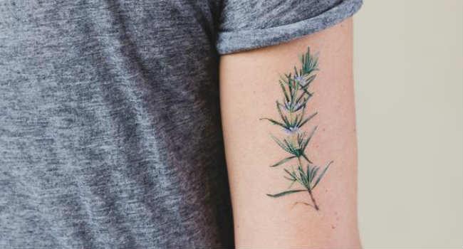 tatuaggi vegani profumati