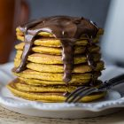 Pancake vegani alla zucca