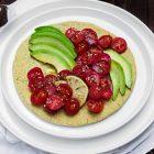 Pancake farina di piselli