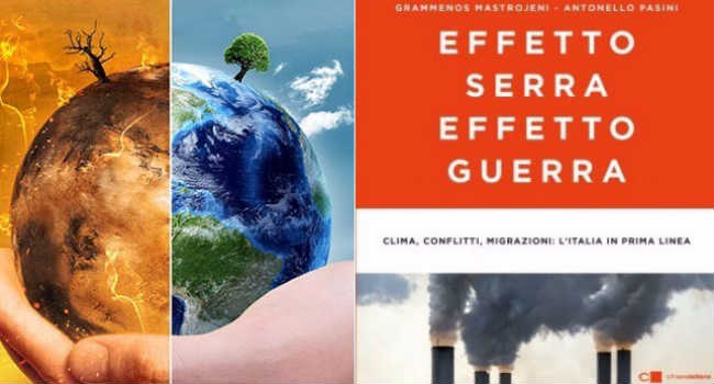 effetto serra effetto guerra