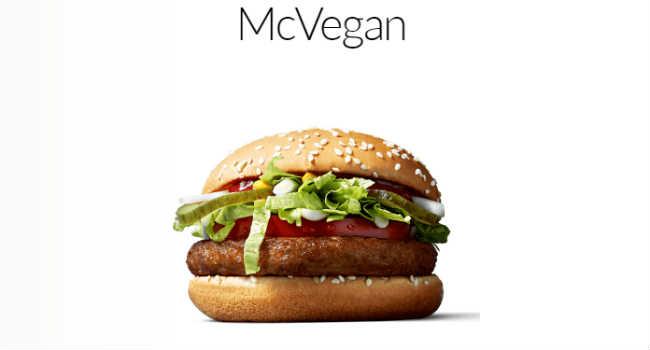 mcvegan mcdonalds