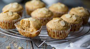 Muffin alle mandorle senza burro