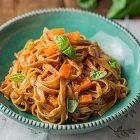 tagliatelle al ragù di carote