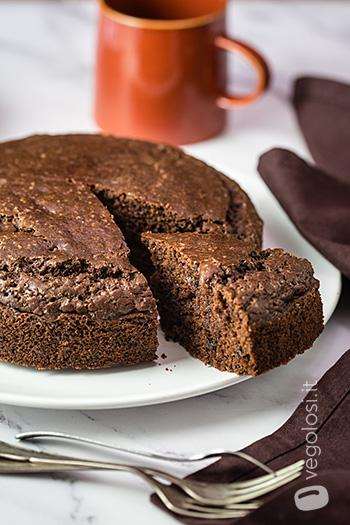 Torta vegana al cioccolato facile