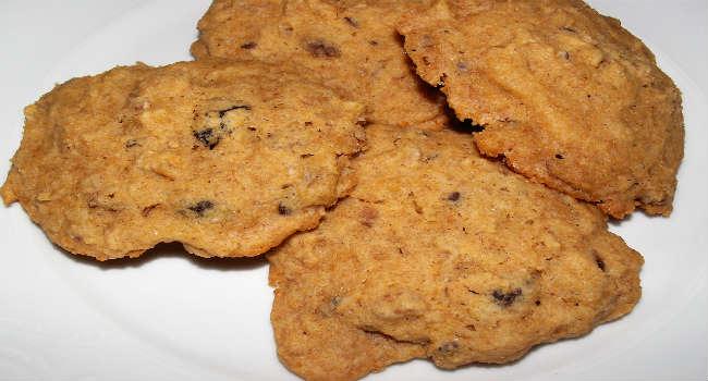 Biscotti al muesli vegani