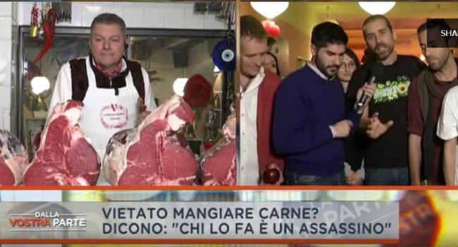 chi mangia carne è un assassino