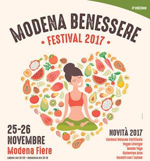 Modena Benessere Festival 2017