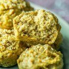 Muffin vegani salati alle patate dolci