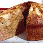 torta vegana soffice pere e cannella