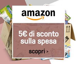 5€ di sconto sulla spesa, su Amazon