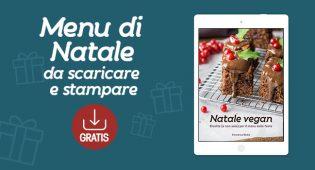 Menu vegano di Natale: ebook gratis da stampare