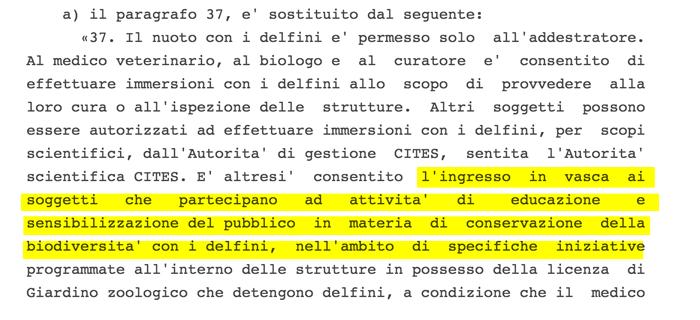 Legge delfinari italiana