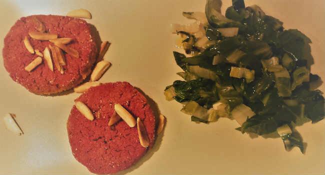 burger vegani cereali e legumi