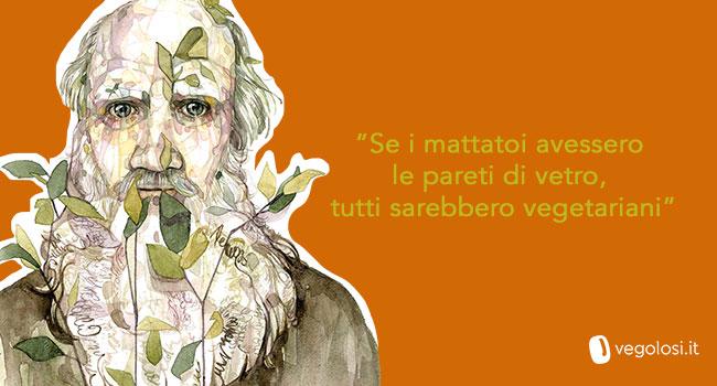 Lev Tolstoj citazione vegan