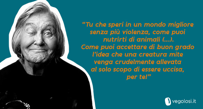 Margherita Hack-citazione vegan