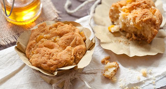 Muffin con la farina di mais