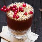 quinoa soffiata con crema calda di frutta e verdura