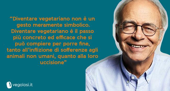 Peter Singer-citazione-vegan
