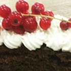 torta vegana cioccolato fondente e pere