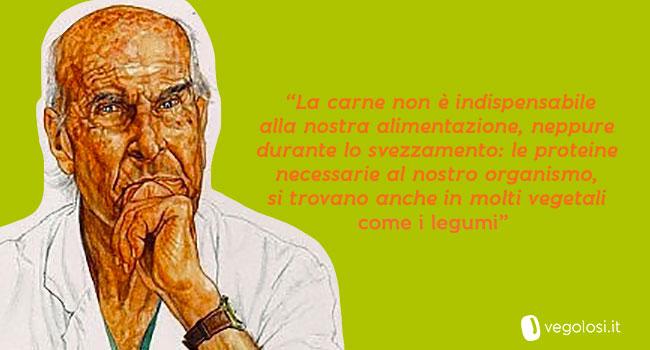 Umberto Veronesi- citazione vegan