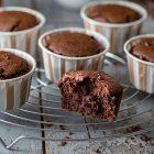 Muffin vegani senza glutine al cioccolato