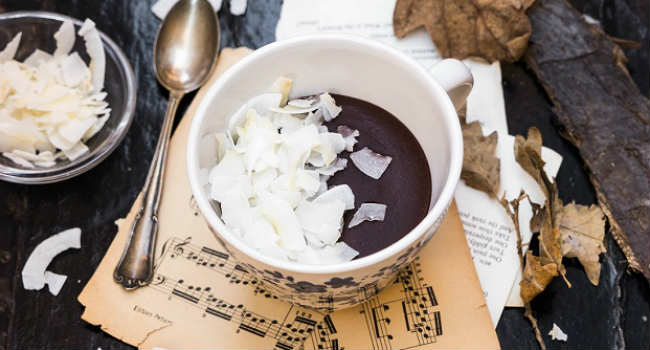 Cioccolata calda vegana