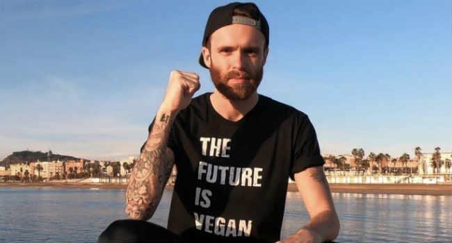 David Ramsden atleta vegano