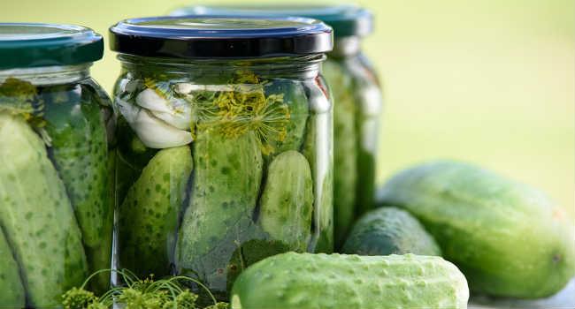 cetrioli fermentati