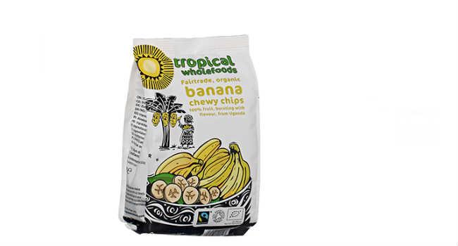 chips di banane