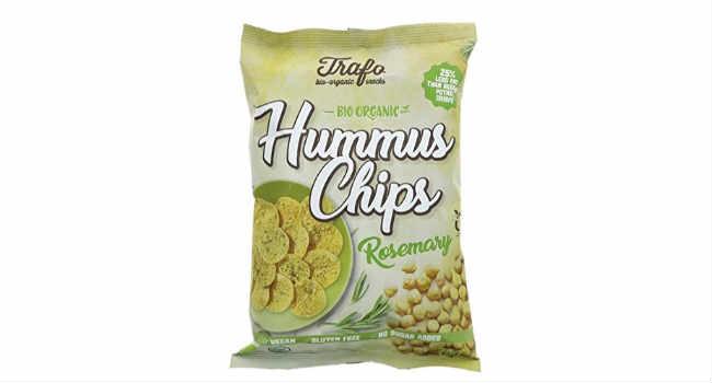 patatine di hummus