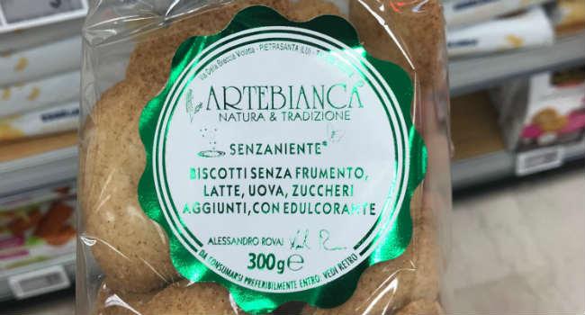 Biscotti Artebianca senza niente