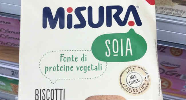 Biscotti alla soia Misura