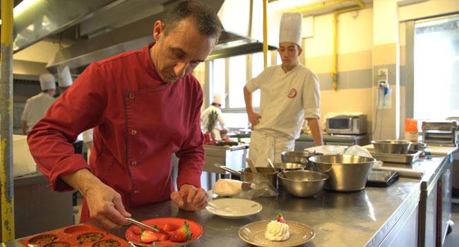 Corso cucina vegan istituto Carlo Porta