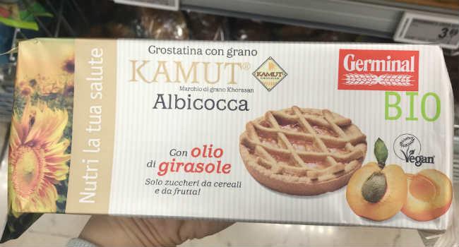 Crostatine vegan albicocca Germinal