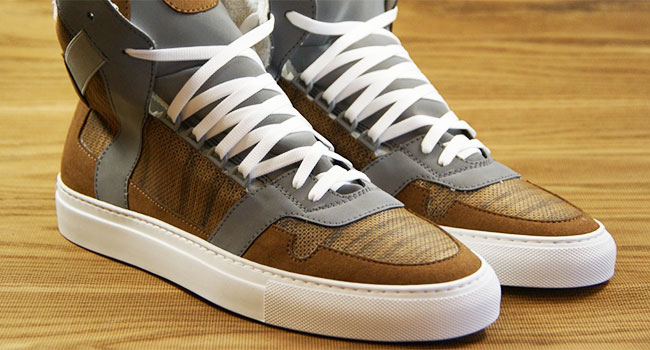 Scarpe vegane legno
