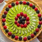 Crostata di frutta vegana