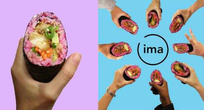 Ima sushi vegano Londra