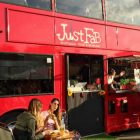 Just Fab Londra bus