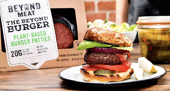 beyond meat arriva in Europa
