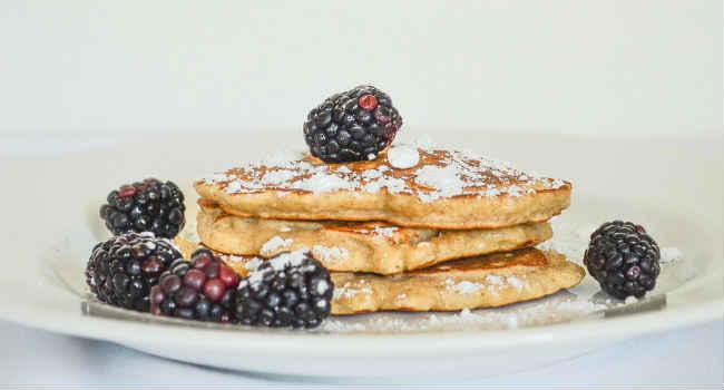 pancake vegani proteici