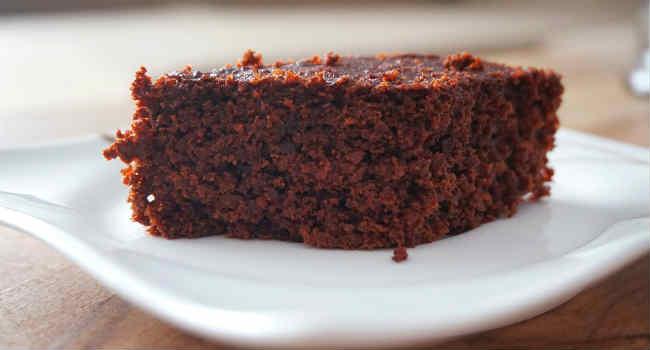 torta vegana castagne e cioccolato
