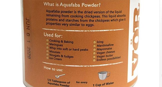 aquafaba-in polvere
