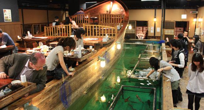 ristorante tokyo pesca pesci