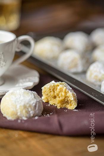 Biscotti ai pinoli senza burro