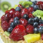Crostata vegana di frutta