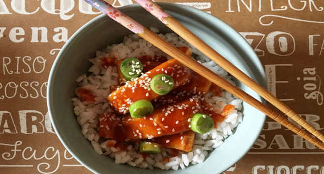 tofu agrodolce