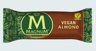 Altra svolta: arriva in Italia il Magnum vegano, classico e alle mandorle