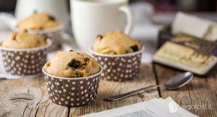Muffin alle mele e cannella vegani